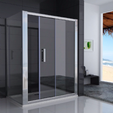 1600MM SLIDING SHOWER DOORS
